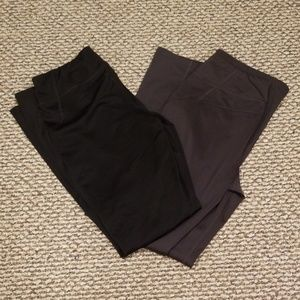 2 pairs Tek Gear Warmtek athletic pants sz M